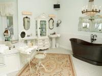North Carolina Mountain Home - eclectic - bathroom - other metro