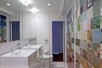 Greenwich Loft Studio - modern - bathroom - new york