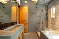 Elegant and Simple Master Bath - contemporary - bathroom - denver