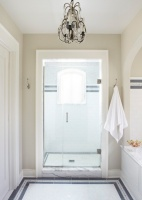New Traditional Family Residence - traditional - bathroom - chicago