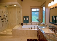 Catamount Ranch - traditional - bathroom - denver