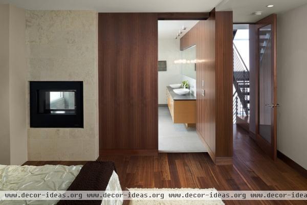 Manhattan Ave Residence - modern - bedroom - los angeles