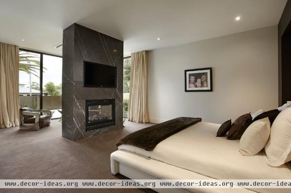 Borell Street Melbourne Victoria Australia - contemporary - bedroom - melbourne