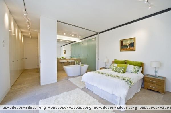 Bellevue Hill Sydney - contemporary - bedroom - sydney