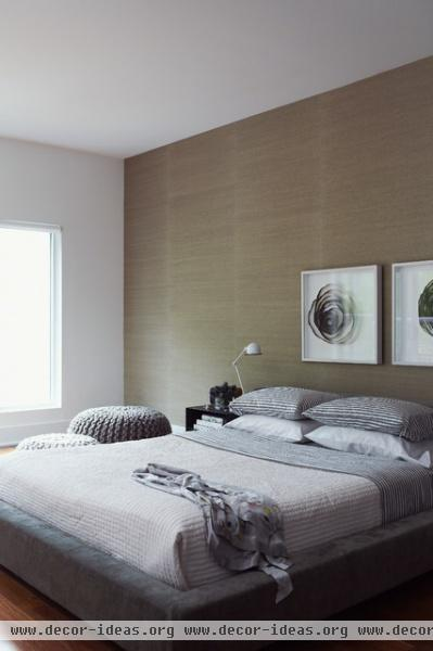 Wellington Residence - modern - bedroom - toronto