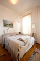 Aya's Boerum Hill Home - eclectic - bedroom - new york