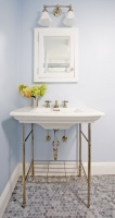 Michaelangelo Bath - traditional - bathroom - boston