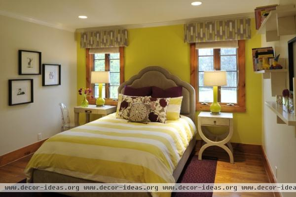 Make Over Your Bedroom With One Wall of Color - Decor Ideas