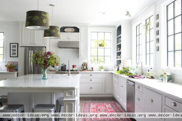 Contemporary Modern Traditional Kitchen