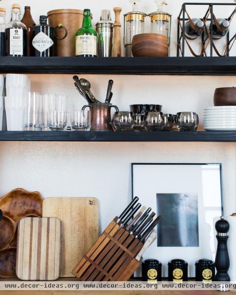 Modern Scandinavian Vintage Kitchen