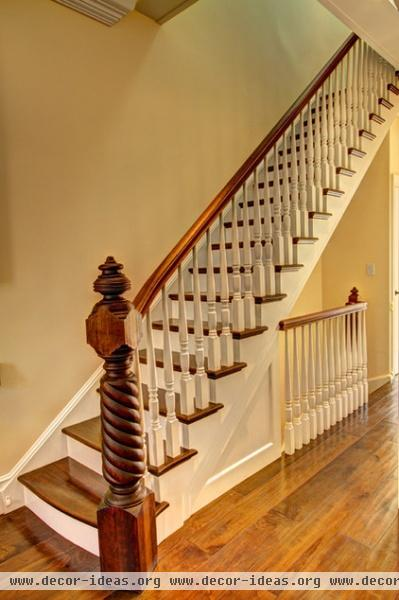 eclectic staircase by Ben Herzog