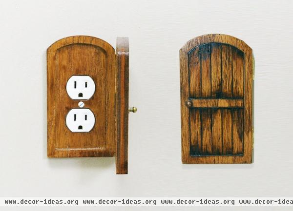 Guest Picks: Bright Ideas for Fun Light Switches - Decor Ideas:eclectic switchplates by Etsy,Lighting