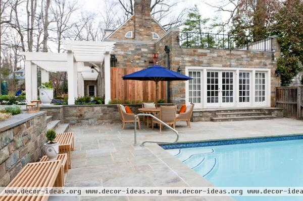 contemporary pool by DC Design House
