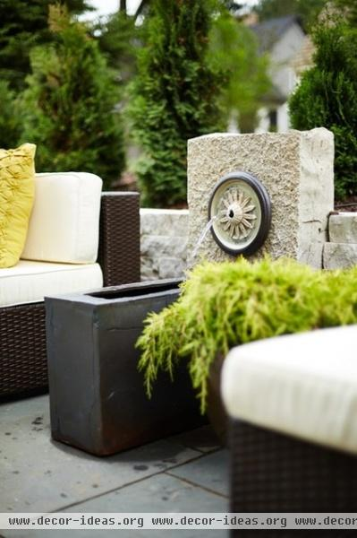 contemporary patio by DiGiacomo Homes & Renovation