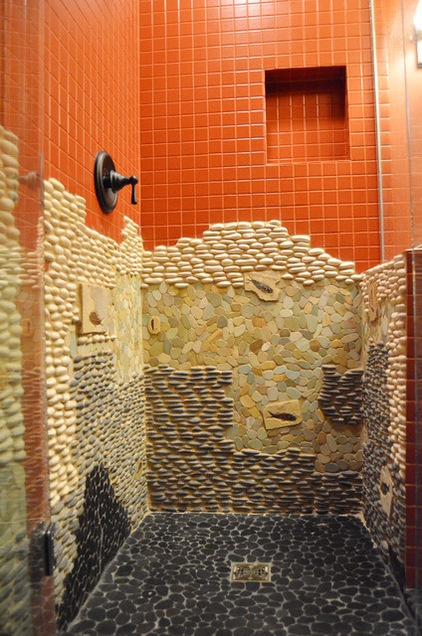 Отделка ванной комнаты мозаикой своими руками