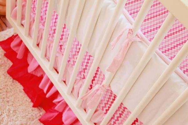 Trending Pink Crib Bedding : Designers' Portfolio