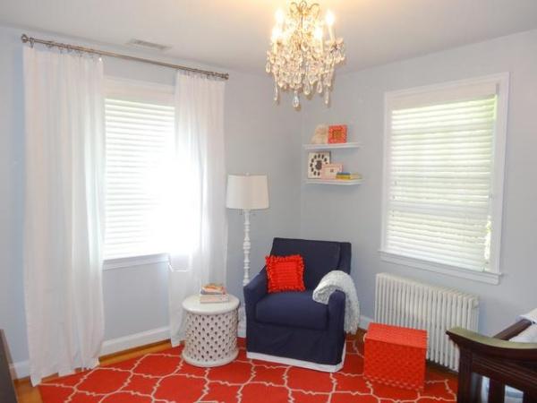 Boy's Nursery Sitting Area : Designers' Portfolio