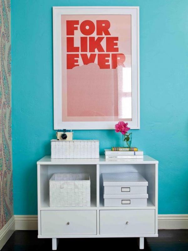 For Like Ever Poster in Tween Girl's Bedroom : Designers' Portfolio