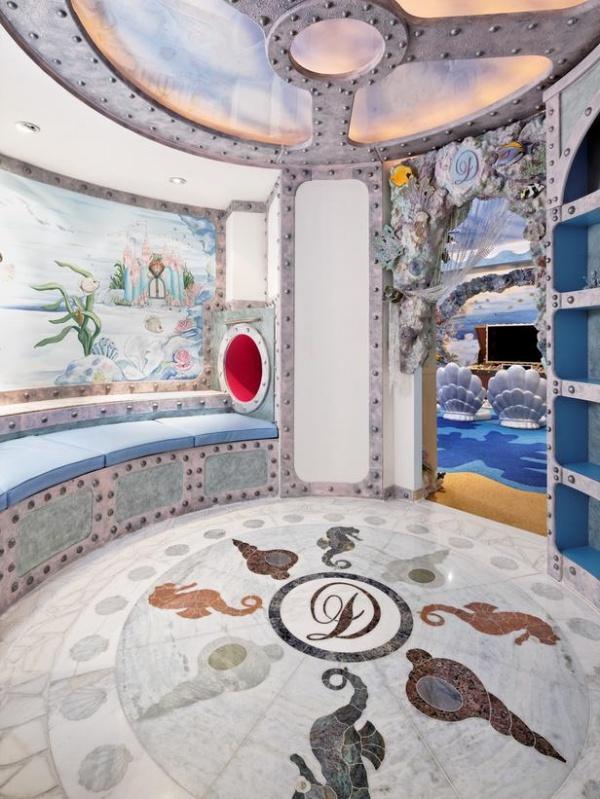 Ocean-Themed Playroom : Designers' Portfolio