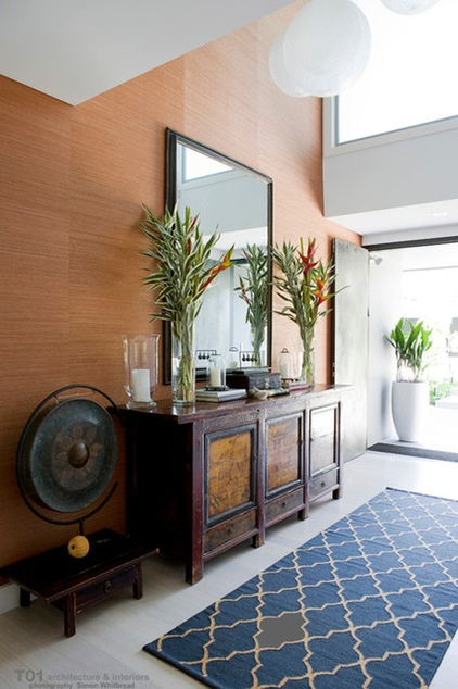 Houzz Open Foyer : Houzz tour a home for family and entertaining too decor