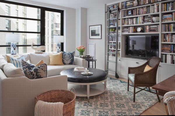 Room Of The Day Multifunctional Living Room With Hidden