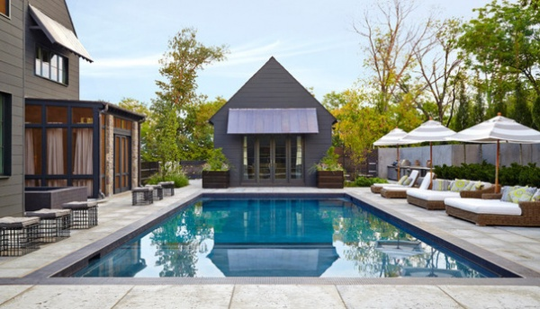 Contemporary Pool by Bonadies Architect