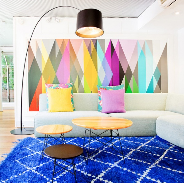 Contemporary Family Room By Touch Interiors