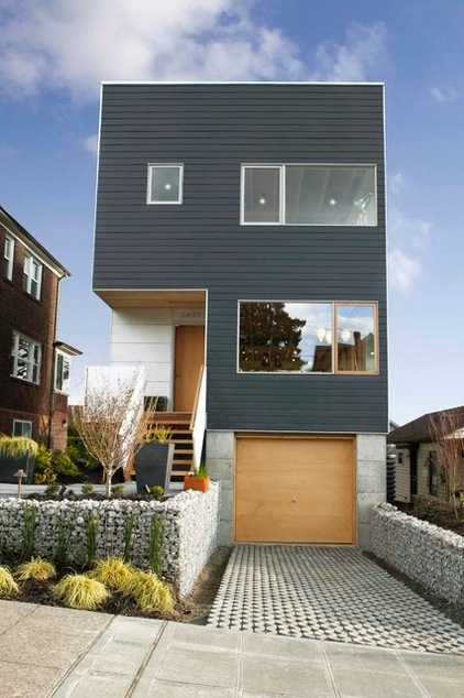 Contemporary Exterior by Greenfab