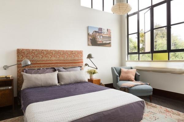 Eclectic Bedroom by Alden Miller Interiors