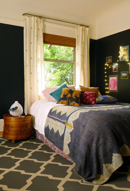 Eclectic Bedroom by Sarah Coombs Design