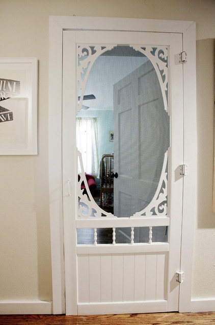 10 Ways To Work Screen Doors Inside And Out Decor Ideas