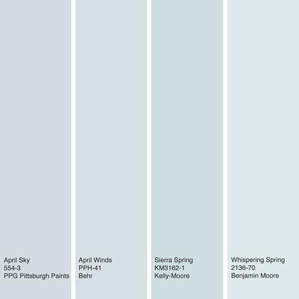 Color Of The Week April Sky Blue Decor Ideas