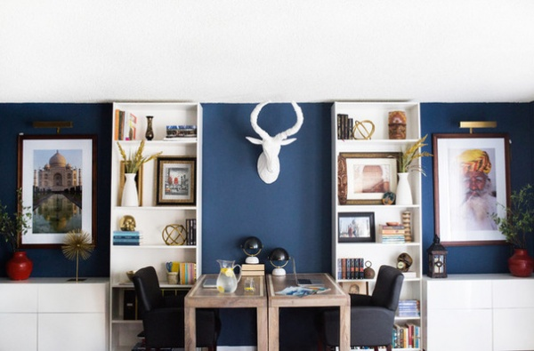 Contemporary Home Office by Motiani Design