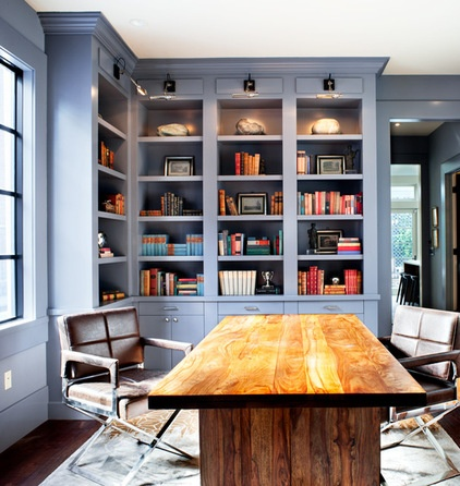 Beautiful Home Office By Ian Stallings With Home Office Houzz.