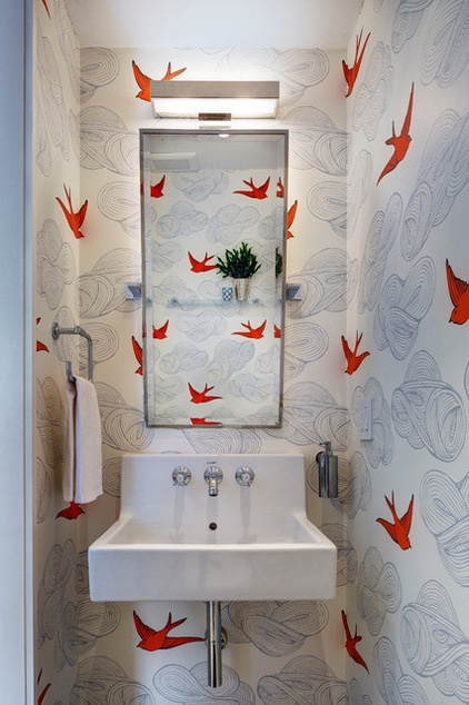 Houzz Flip 102 Eye Popping Powder Rooms Decor Ideas