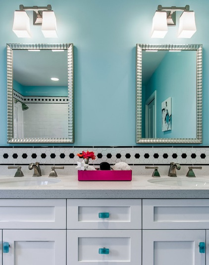 3 fresh and fun bathrooms just right for teenage girls decor ideas - Bathroom themes for teens ...