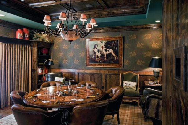 Full House 12 Stylish Poker Rooms Decor Ideas