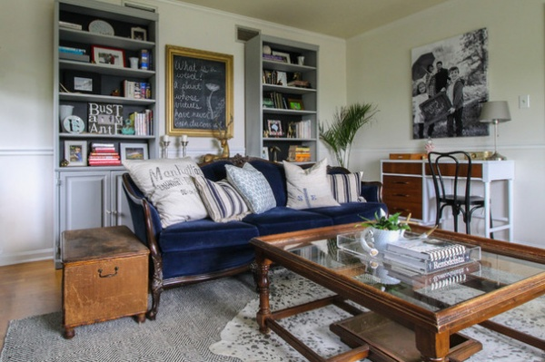 Eclectic Living Room By Michaela Dodd