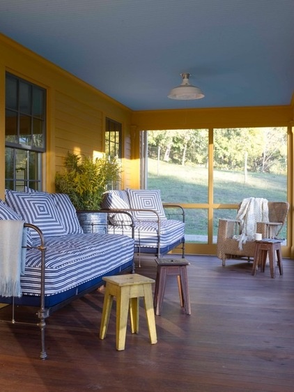 Farmhouse Porch by Heide Hendricks