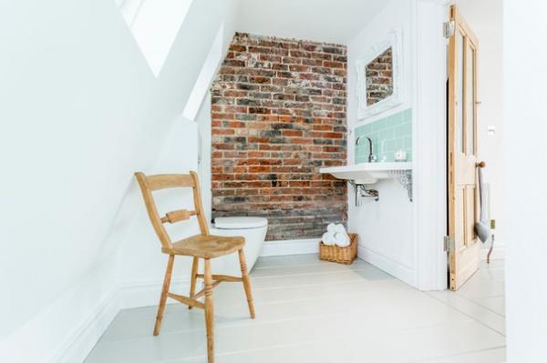 Beach Style Bathroom by Westcott Construction Ltd