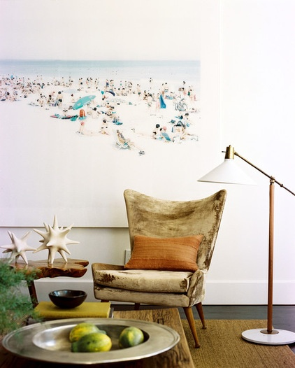 Midcentury Living Room by Brad Ford ID