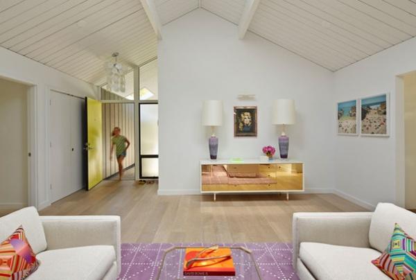 Midcentury Living Room by Alison Damonte Design