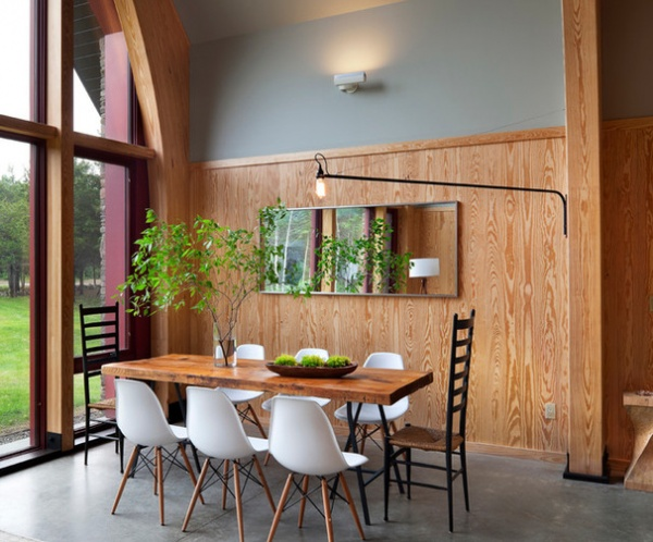 Modern Dining Room By Barlis Wedlick Architects Hudson River Studio