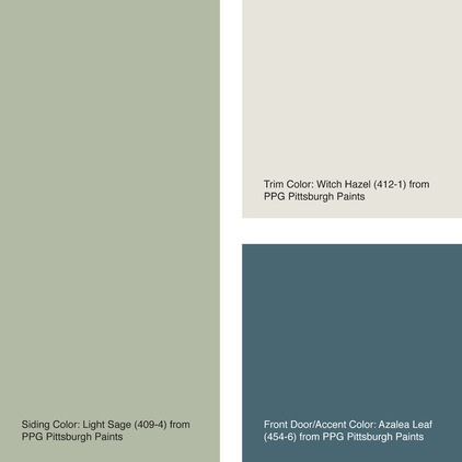 Exterior Color Of The Week 6 Ways With Sage Green Decor