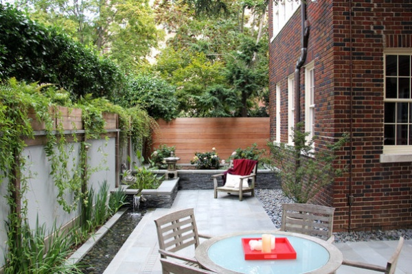 Asian Patio by JHLA / Jennifer Horn Landscape Architecture