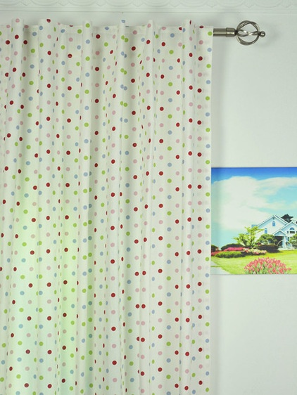 Farmhouse Living Room by Curtains4Australia