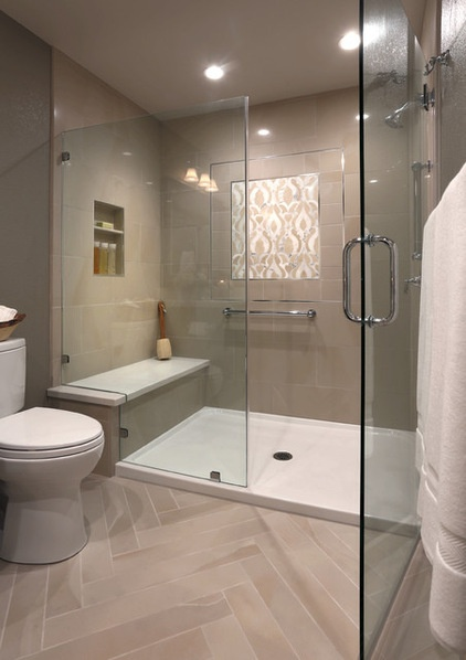 Room of the day a bathroom remodel to celebrate a 50th for Hall bath remodel ideas