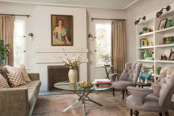 Mediterranean Living Room by Koffka Phakos Design