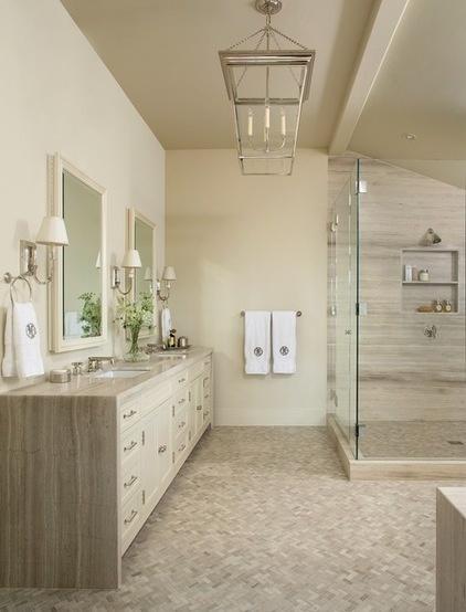 Traditional Bathroom by Massucco Warner Miller Interior Design