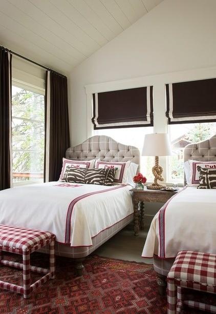 Rustic Bedroom by Massucco Warner Miller Interior Design